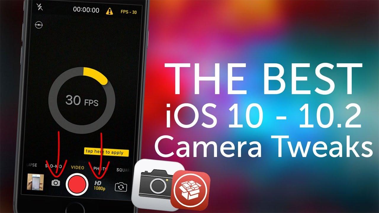 The Best Ios 10 Ios 10 3 3 Camera Tweaks Youtube