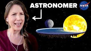 Astronomer Plays Flat Earth Simulator