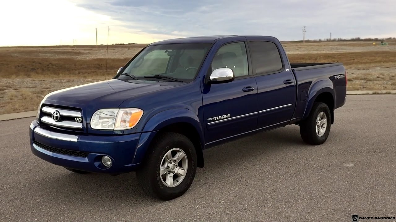 2006 Toyota Tundra Double Cab TRD Off Road Exterior And Interior
