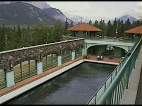Hot Springs at Cave and Basin - Banff, Alberta - Canada