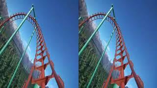 Phim Hay VR | Phim cho kính thực tế ảo - Tàu Lượn Siêu Tốc P3 VR 3D SBS Full HD