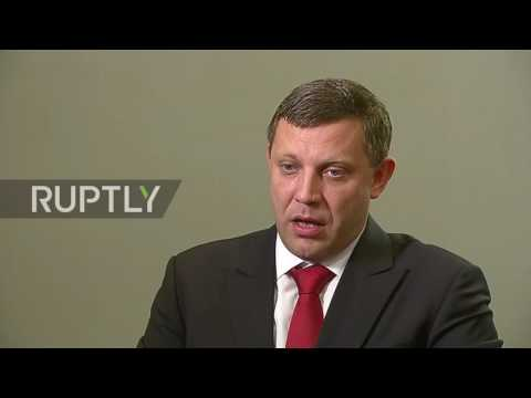 Ukraine: DPR's Zakharchenko announces September 15 ceasefire