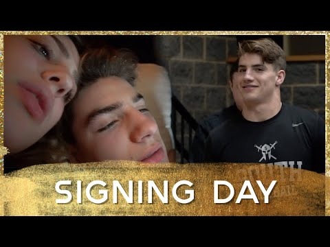 FOOTBALL BANQUET AND SIGNING DAY (day 9)