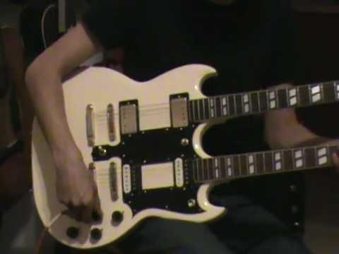 ibanez doubleneck 6 12 electric guitar youtube. Black Bedroom Furniture Sets. Home Design Ideas