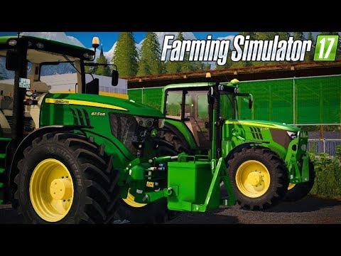DEBUT D'UNE NOUVELLE SÉRIE !!! 😀 (Gamsting) - Farming simulator 17