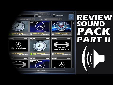 Review Mod SOUNDPACK PART II, Free Mods - ETS2 Mod Indonesia - 동영상