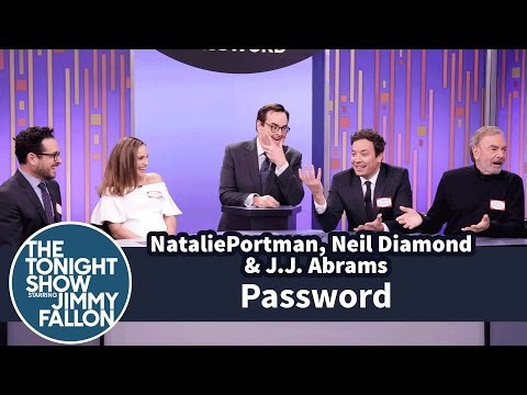 Password with Natalie Portman, Neil Diamond and J.J. Abrams