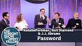 Password with Natalie Portman, Neil Diamond and J.J. Abrams