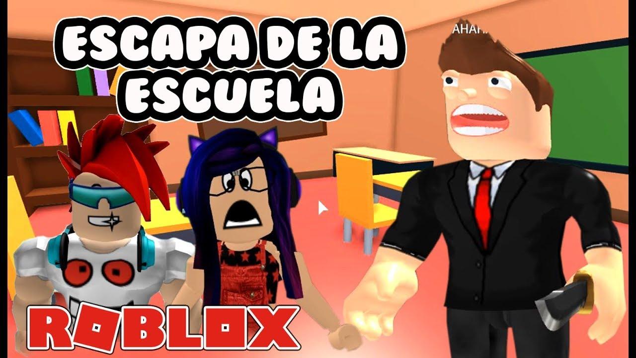 Nuevo Escape De La Escuela Escapa Del Profesor En Roblox Kori - escapa de la escuela roblox en espa#U00f1ol youtube