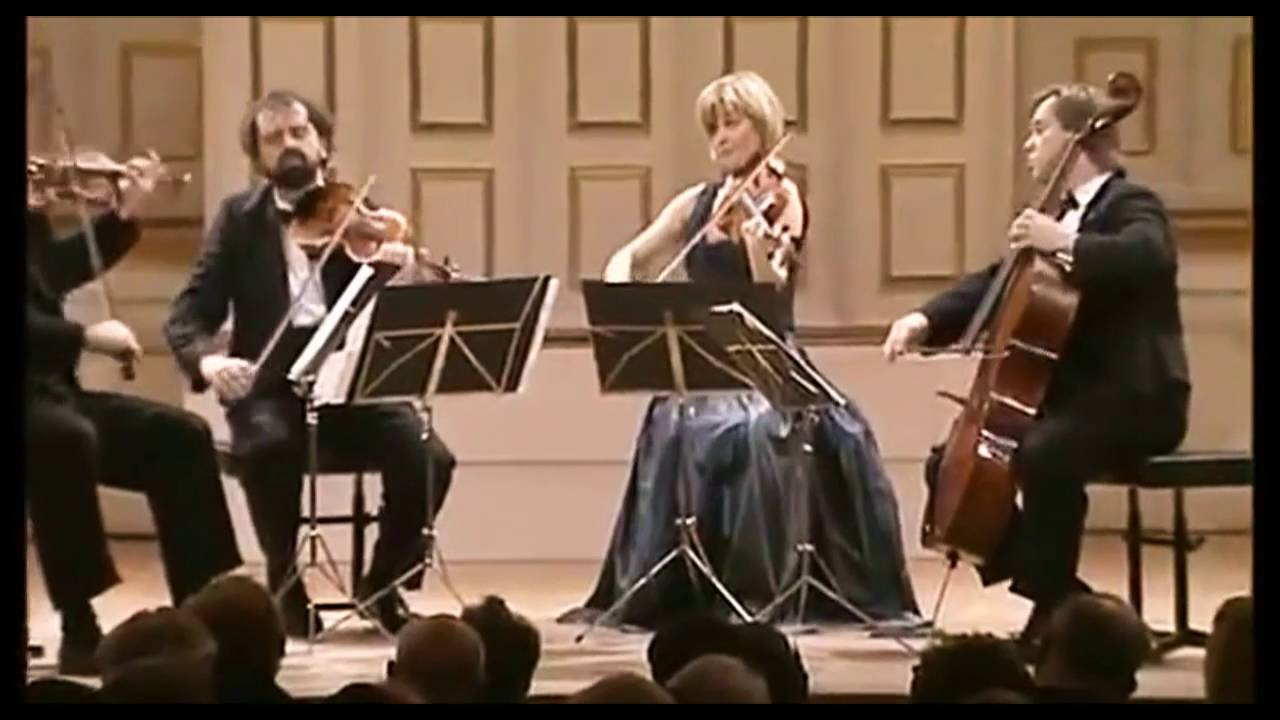 HAGEN QUARTET - Mozart String Quartet # 17 in B flat major (The Hunt)