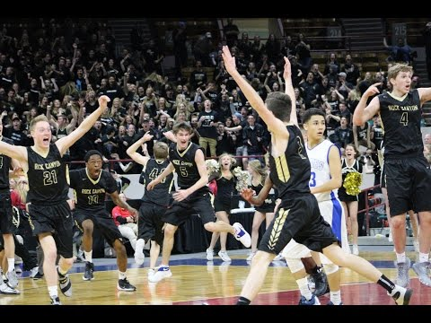 Crazy finish sends Rock Canyon to 5A boys hoops Final 4