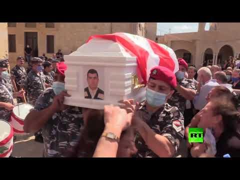 بدء تشييع جنازة ضحايا انفجار مرفأ بيروت  - نشر قبل 2 ساعة