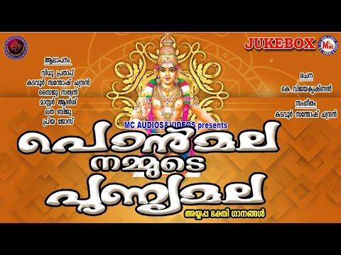 പൊന്മല നമ്മുടെ പുണ്യമല  | Hindu Devotional Songs | Ayyappa Devotional Audio Jukebox