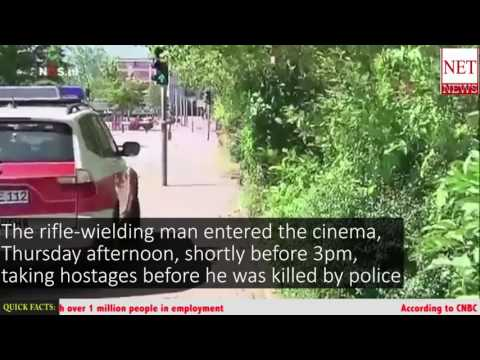 Man shot dead by police after opening fire at cinema in Viernheim, Germany