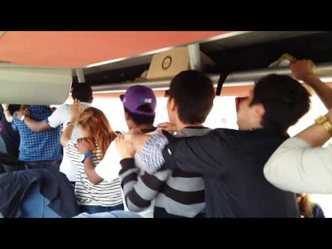 Akdeniz University TOMER group dance in trip to Alanya