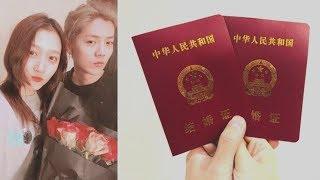 Lộc Hàm - Quan Hiểu Đồng đã lĩnh giấy chứng nhận kết hôn, chuẩn bị về chung 1 nhà?