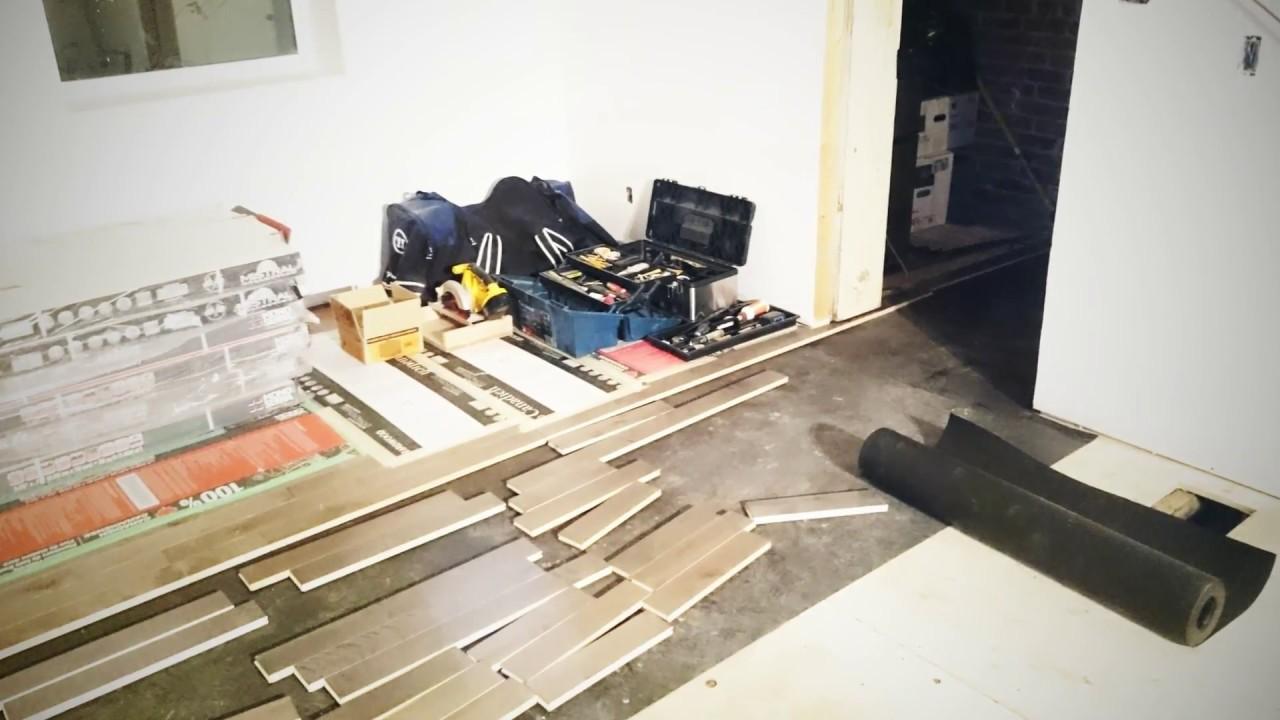 Tile Floor Youtube Tile Floor Installation