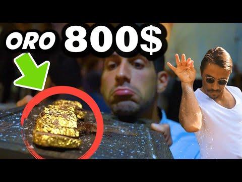 MANGIO CARNE D'ORO 800$ DA SALT BAE AL NUSR ET