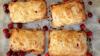Dessert Recipe: Cranberry Apple Hand Pies by CookingForBimbos.com