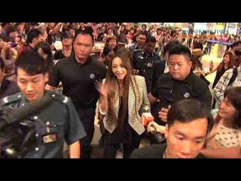 Queen of J-pop Namie Amuro in Singapore