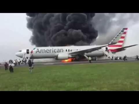 liveleak plane crash chicagos ohare airport american