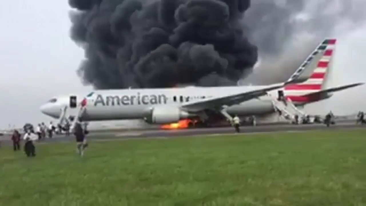 Liveleak Plane Crash Chicago S O Hare Airport American