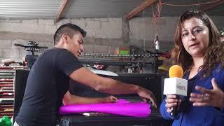 Papel Picado una tradición del Municipio de Huixcolotla