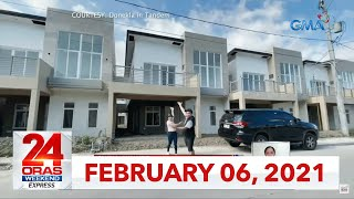 24 Oras Weekend Express: February 6, 2021 [HD]