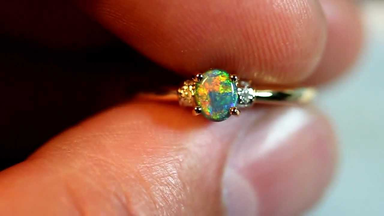 fire natural rings cz black accented opal fullxfull ring il engagement listing delicate