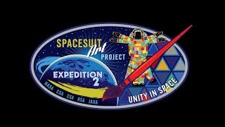 ISS Event Cancer Research / UNITY Space Suit  & NASA  Peggy Whitson, Jack Fischer & Randy Bresnik