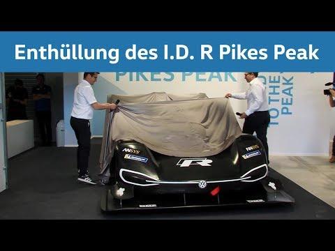 Geladen zum Gipfeltreffen –  Weltpremiere des Volkswagen I.D. R Pikes Peak