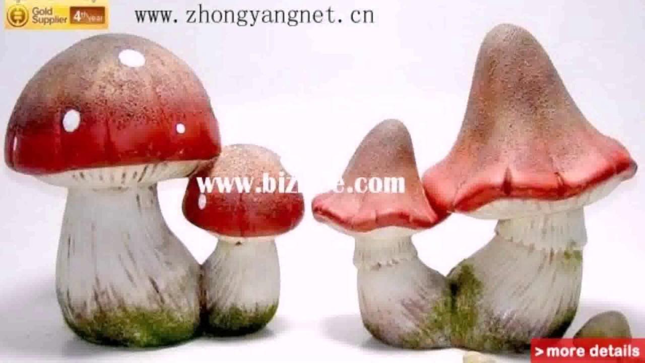 Beau Diy Garden Mushroom Decor