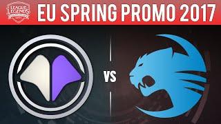 MIL vs ROC, Game 1 - EU LCS 2017 Spring Promotion - Millenium vs Roccat