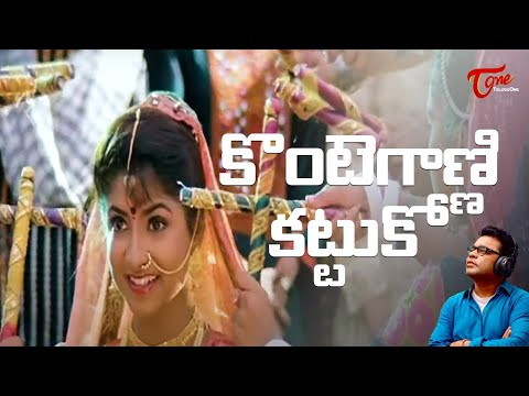 Gentleman Telugu Movie Songs | Kontegaadni Kattuko Video Song | Arjun | Madhubala
