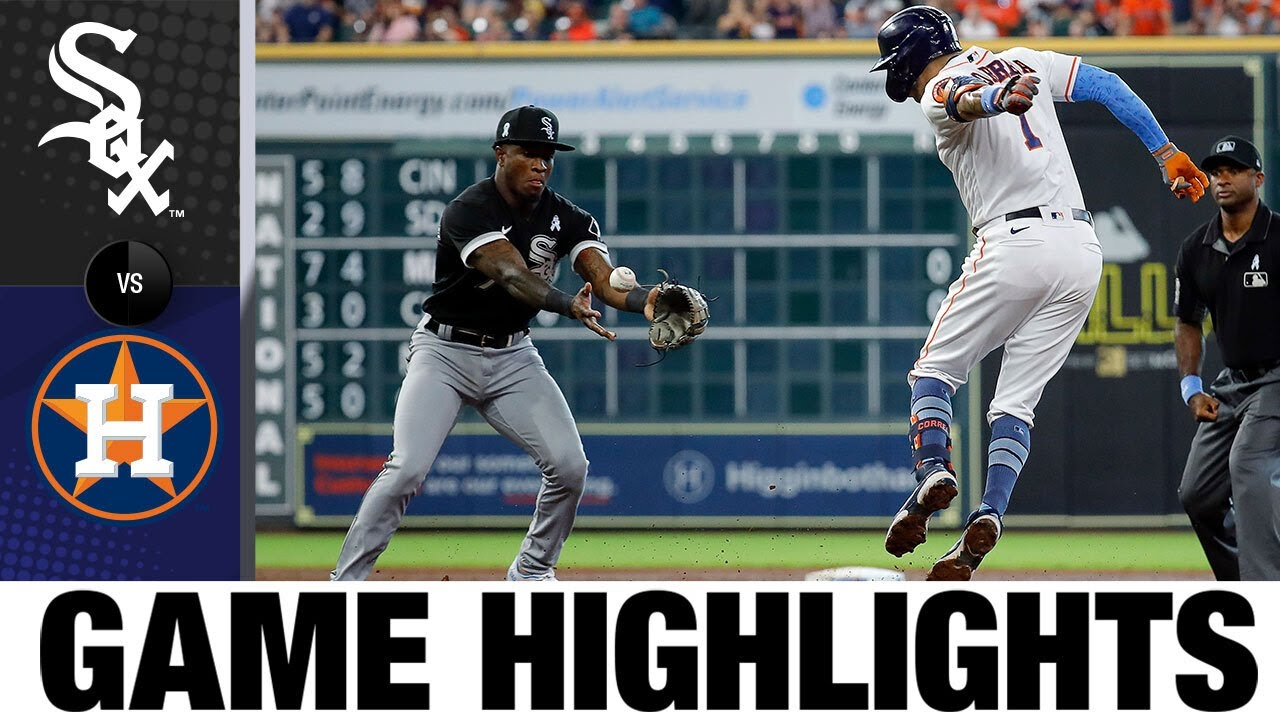 Download White Sox vs. Astros Game Highlights (6/20/21) | MLB Highlights