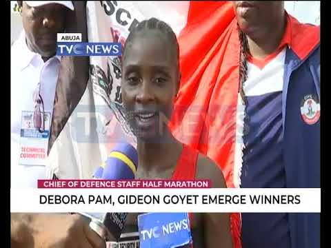 Debora Pam, Gideon Covet emerge winners of CDS  Half Marathon