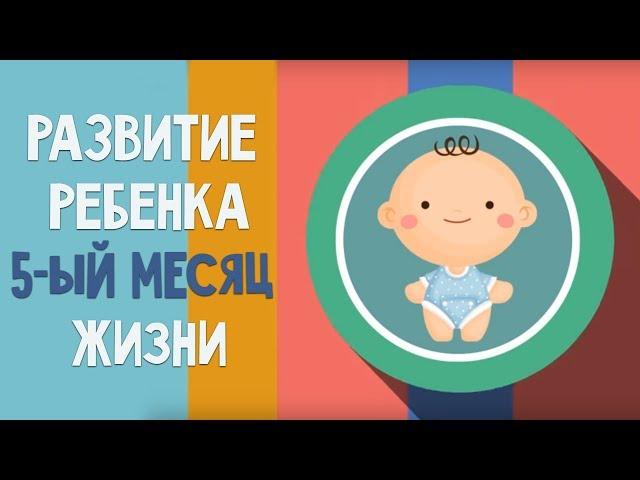Пятый месяц жизни. Календарь развития ребенка