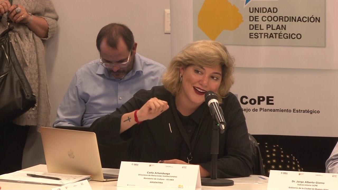 Presentación Ministerio de Cultura, Carla Artunduaga - YouTube