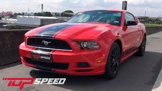 Avaliação Ford Mustang V6   Canal Top Speed