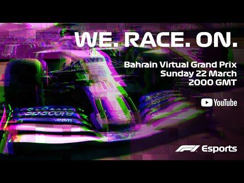 F1 Bahrain Virtual Grand Prix! Full Race