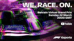 F1 Bahrain Virtual Grand Prix! Full Race