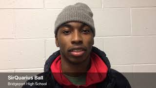 Bridgeport's SirQuarius Ball explains commitment to Grand Valley State football
