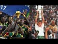 AFCON FINALS 1992 -2017 WINNERS. Goals And Trophy Celebrations