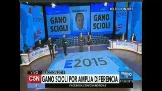 El papelón de C5N en las elecciones presidenciales de 2015