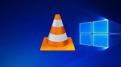[Windows 10] Blu-ray mit VLC abspielen