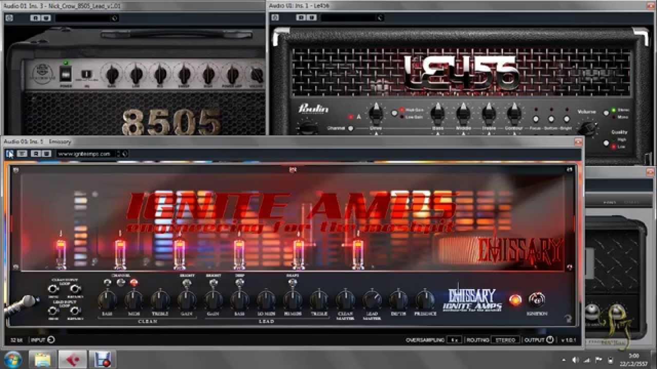 free guitar amp simulator plugins youtube. Black Bedroom Furniture Sets. Home Design Ideas