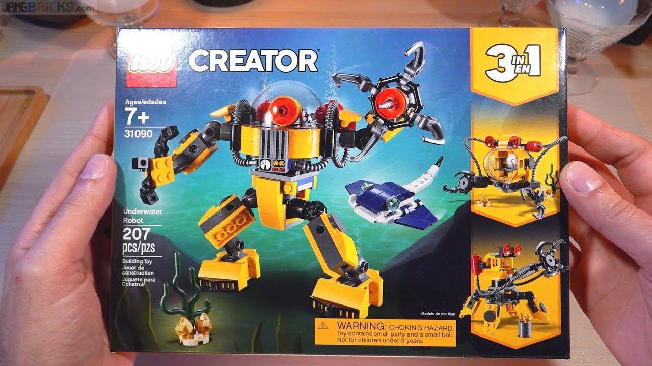 LEGO Creator Building Set Underwater Robot207 pieces