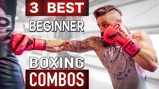 BOXING HEAVY BAG WORKOUT   Top 3 BEGINNER PUNCH COMBOS   Lex Fitness