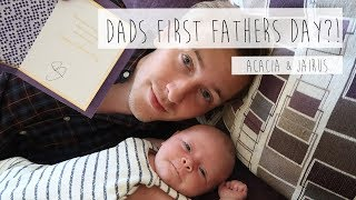 DADS FIRST FATHERS DAY?! | ACACIA & JAIRUS