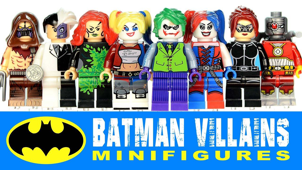 Batman Villains of Gotham w/ Joker Harley Quinn Deadshot